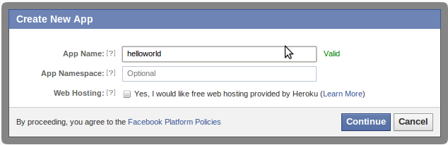 Facebook Login Example (in Java) | Gardiary's HOT Weblog